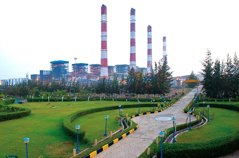 Conventional energy power plant Gujarat